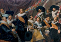 Banquet of the officers of the St George Civic Guard 1627