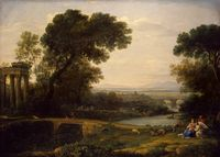 Landscape with the Rest on the Flight to Egypt